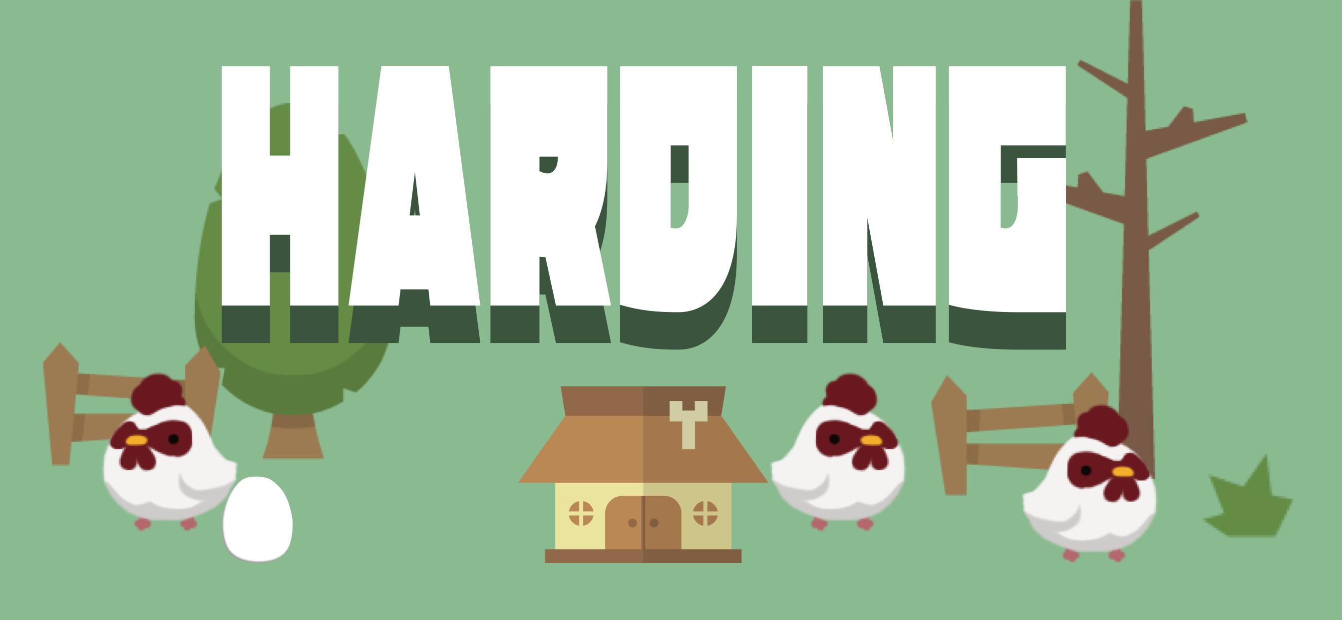 Harding – なぞって囲って増やして、放牧生活